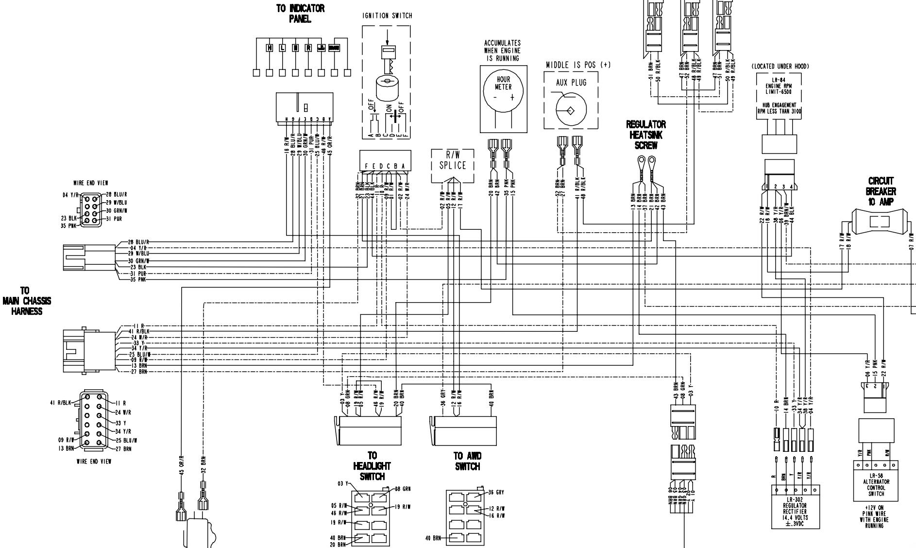 2005 Ranger 500 6x6 Electrical Problem